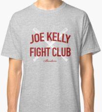 Red Tee Joe Kelly Fight Club Shirt for Boston Fans Classic T-Shirt