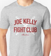 Red Tee Joe Kelly Fight Club Shirt for Boston Fans Unisex T-Shirt
