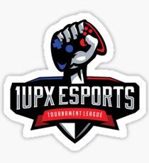 1UPX ESports Logo (for dark material) Sticker