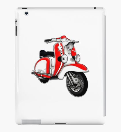 Scooter T-shirts Art: TV 175 Series 1 Mod style racer. iPad Case/Skin