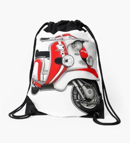 Scooter T-shirts Art: TV 175 Series 1 Mod style racer. Drawstring Bag