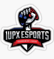 1UPX ESports Logo (for light material) Sticker