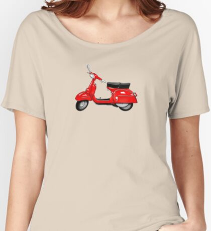 Scooter T-shirts Art: SS 180 Scooter Design Women's Relaxed Fit T-Shirt