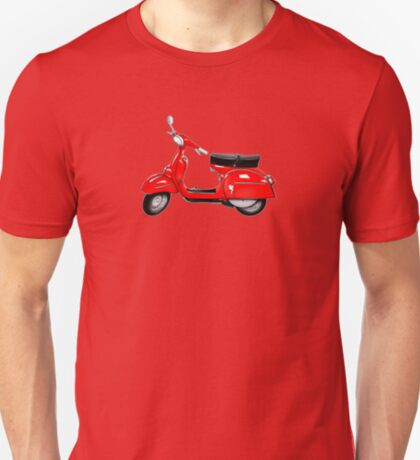 Scooter T-shirts Art: SS 180 Scooter Design T-Shirt