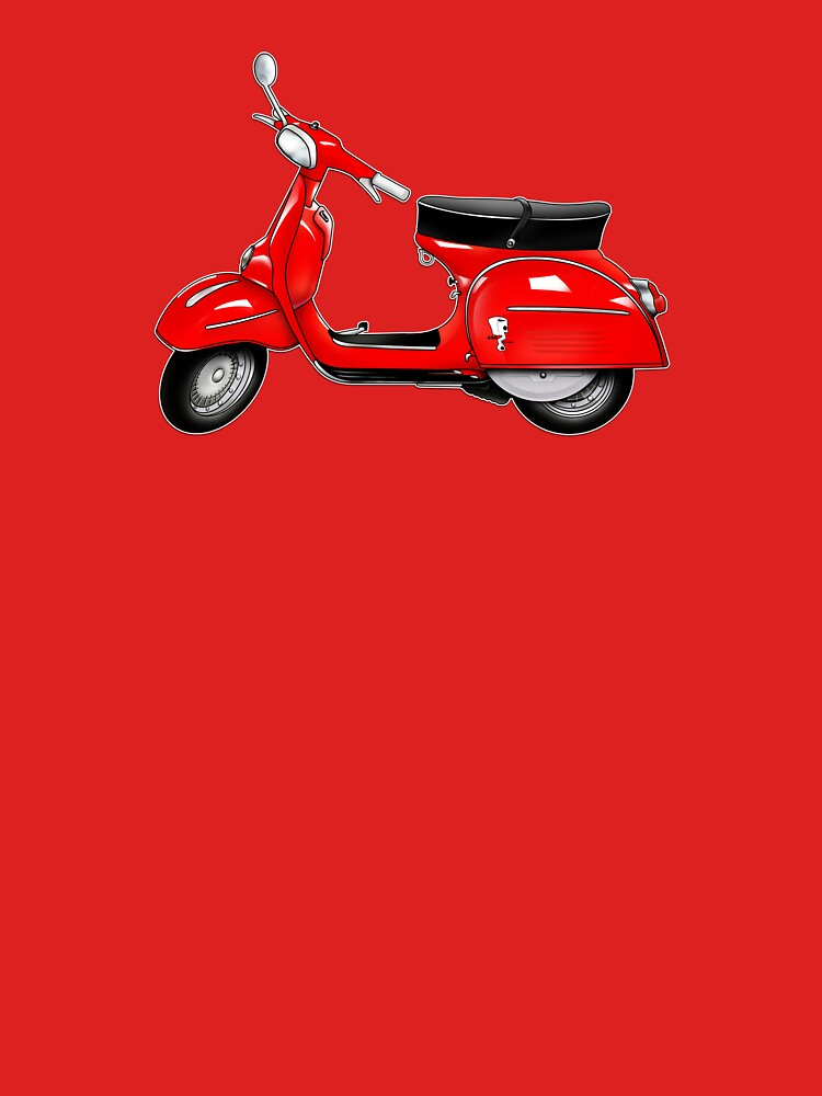 Scooter T-shirts Art: SS 180 Scooter Design by yj8dsk57
