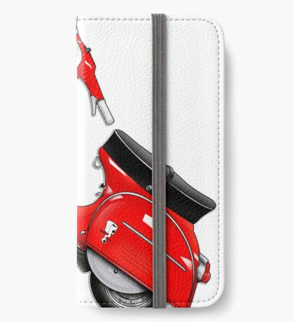 Scooter T-shirts Art: SS 180 Scooter Design iPhone Wallet