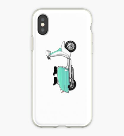 Scooter T-shirts Art: 1960s Li 125 Series 3 Innocenti Scooter Design iPhone Case