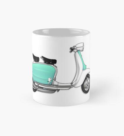 Scooter T-shirts Art: 1960s Li 125 Series 3 Innocenti Scooter Design Mug