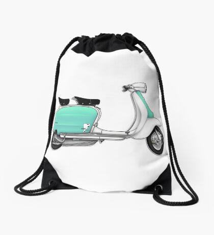 Scooter T-shirts Art: 1960s Li 125 Series 3 Innocenti Scooter Design Drawstring Bag