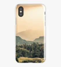 View of Austrian Alps near Salzburg iPhone Case