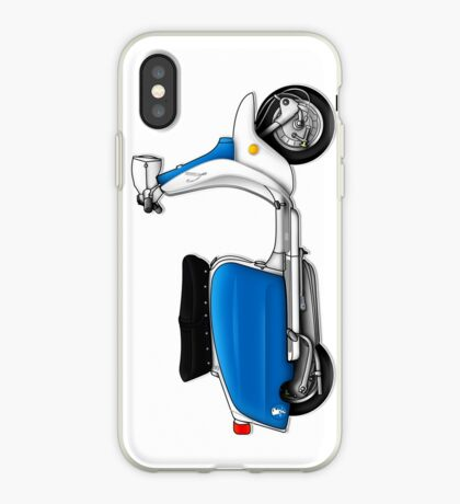 Scooter T-shirts Art: Serveta Li 150 Special, Original Color Design iPhone Case