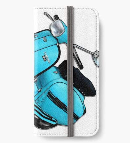 Scooter T-shirts Art: DL 125 Scooter Design iPhone Wallet