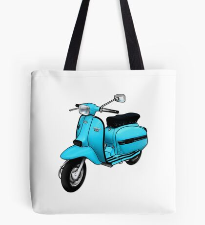Scooter T-shirts Art: DL 125 Scooter Design Tote Bag
