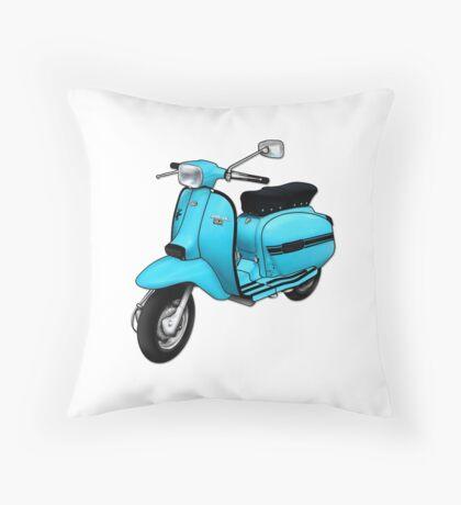 Scooter T-shirts Art: DL 125 Scooter Design Throw Pillow