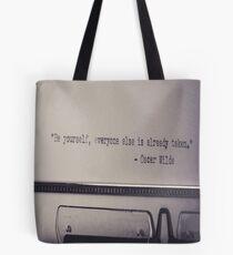 OSCAR WILDE Pop Art Tote Bag