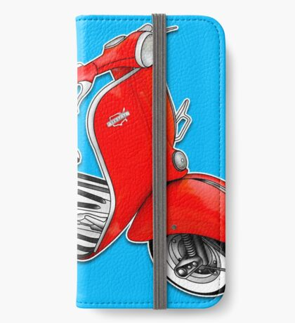 Scooter T-shirts Art: 1960 Allstate Scooter Design iPhone Wallet