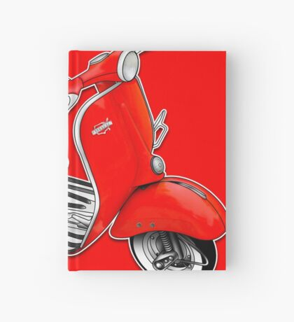 Scooter T-shirts Art: 1960 Allstate Scooter Design Hardcover Journal