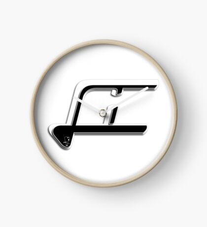 Scooter T-shirts Art: LI Logo Design Clock