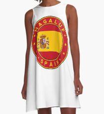 Magaluf, Magaluf sticker, Magaluf t-shirt, Spain, Cities of Spain A-Line Dress