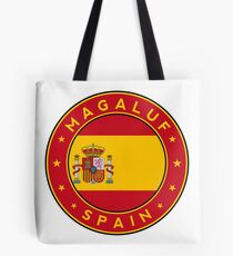 Magaluf, Magaluf sticker, Magaluf t-shirt, Spain, Cities of Spain Tote Bag