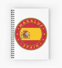 Magaluf, Magaluf sticker, Magaluf t-shirt, Spain, Cities of Spain Spiral Notebook