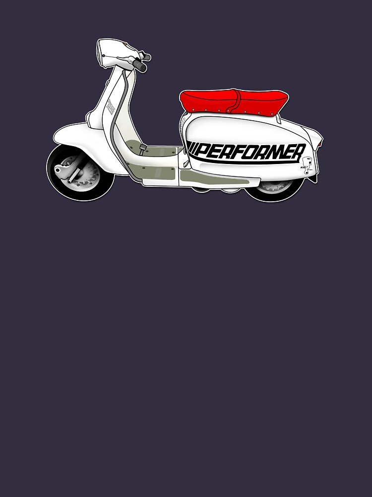 Scooter T-shirts Art: Jet200 Performer Scooter Design by yj8dsk57