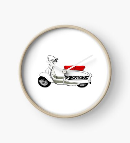 Scooter T-shirts Art: Jet200 Performer Scooter Design Clock