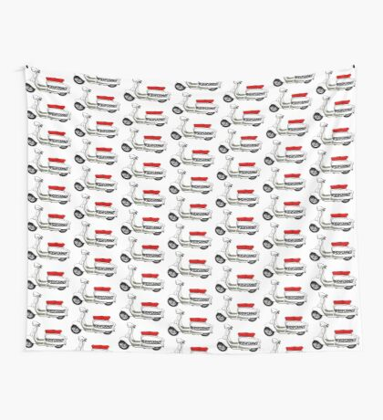 Scooter T-shirts Art: Jet200 Performer Scooter Design Wall Tapestry