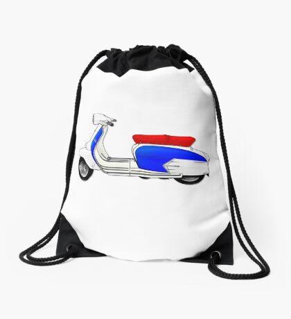Scooter T-shirts Art: SX200 Dealership Blue Scooter Design Drawstring Bag