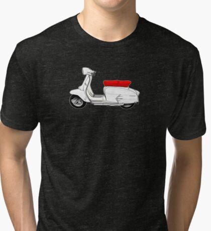 Scooter T-shirts Art: SX200 Scooter Design Tri-blend T-Shirt