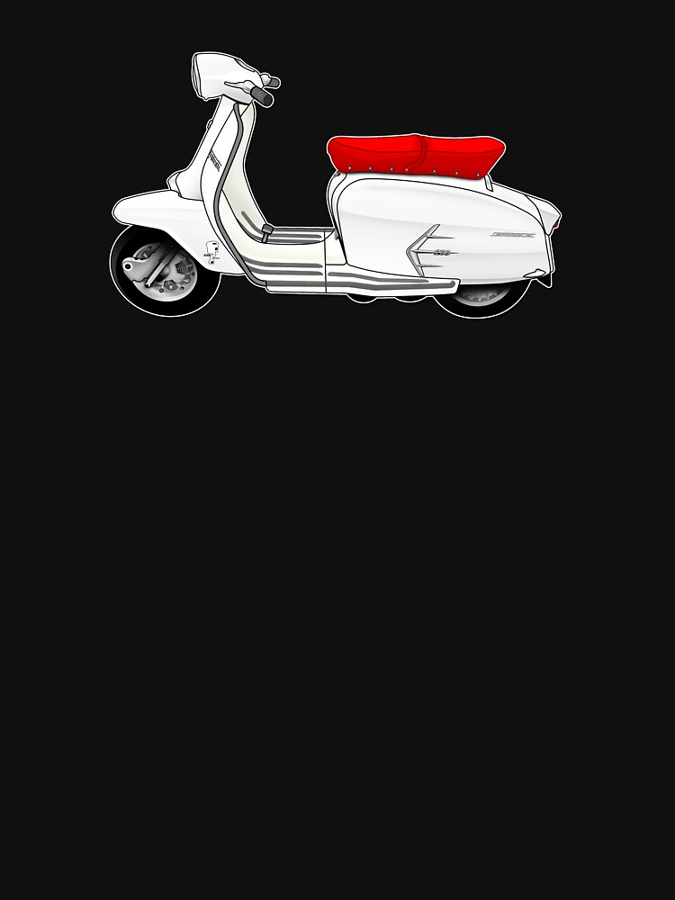 Scooter T-shirts Art: SX200 Scooter Design by yj8dsk57