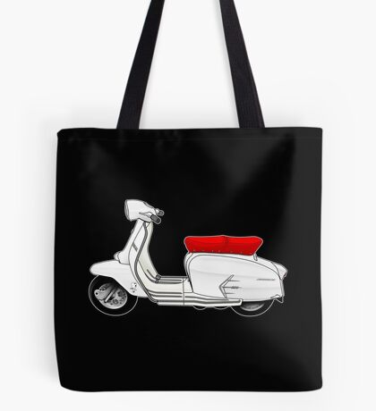 Scooter T-shirts Art: SX200 Scooter Design Tote Bag