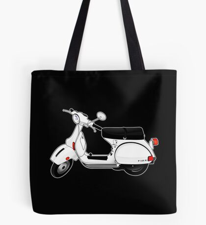 Scooter T-shirts Art: P Series Scooter Design Tote Bag