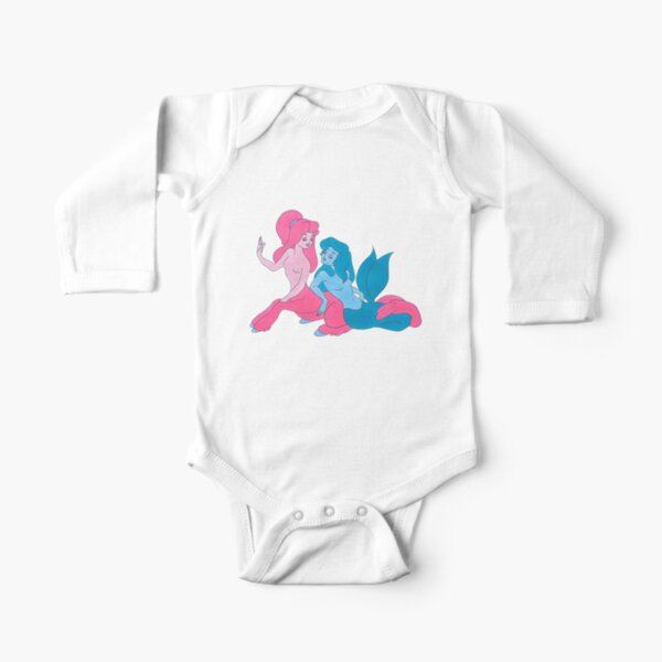 mythical girls Long Sleeve Baby One-Piece