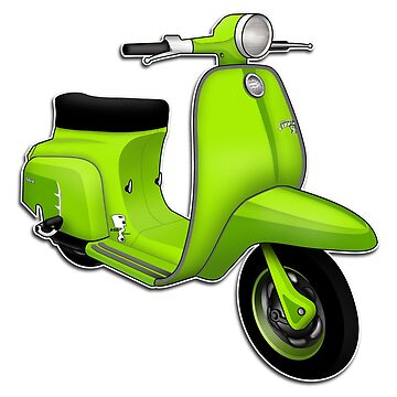 Scooter T-shirts Art: J50 Deluxe Scooter Design by yj8dsk57