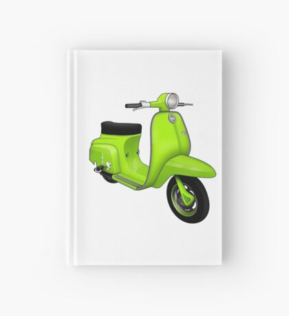 Scooter T-shirts Art: J50 Deluxe Scooter Design Hardcover Journal