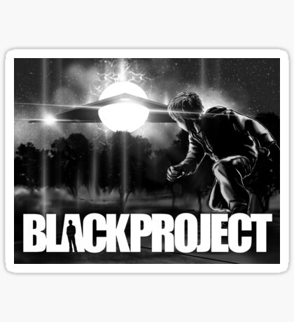 BLACK PROJECT 'ENCOUNTER'  Sticker