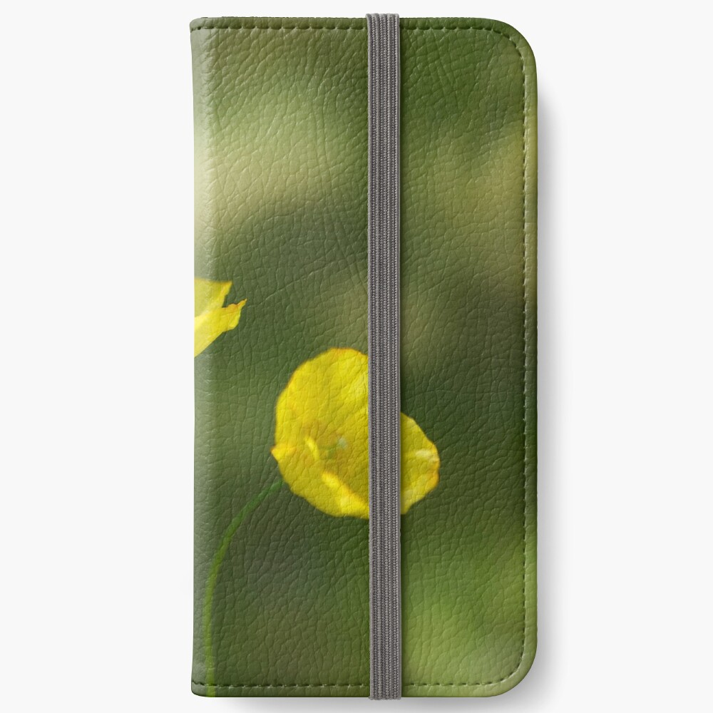 Poppies iPhone Wallet