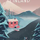 Finland Travel Art by anniko-story
