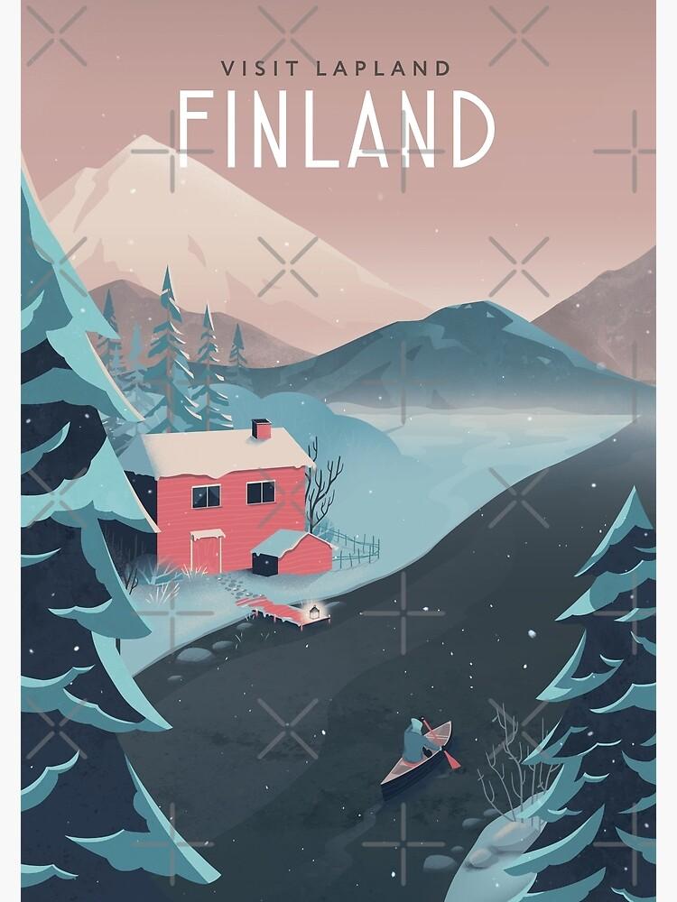 Finland Travel Art by anniko-story