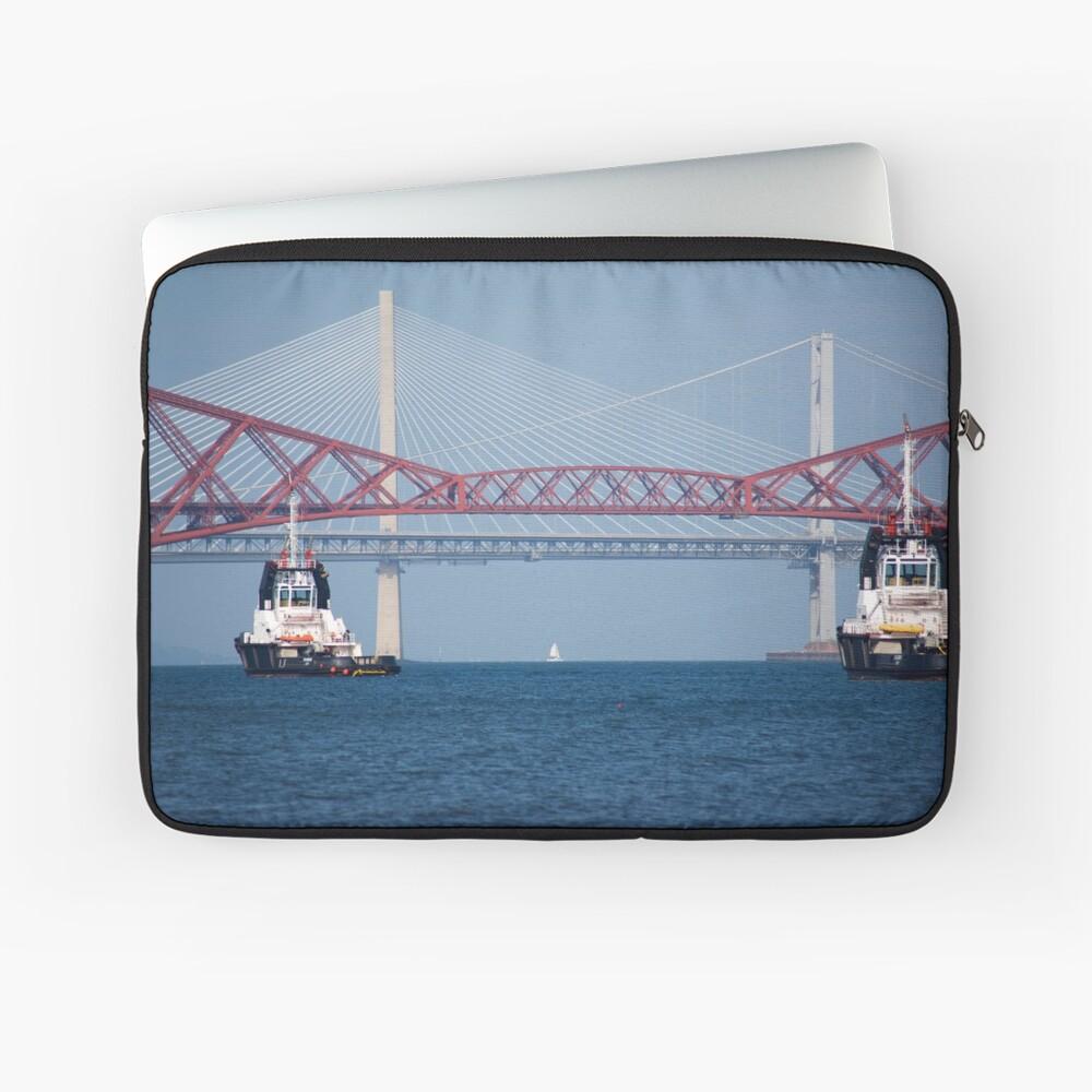 Three Bridges & Boats Laptop Sleeve