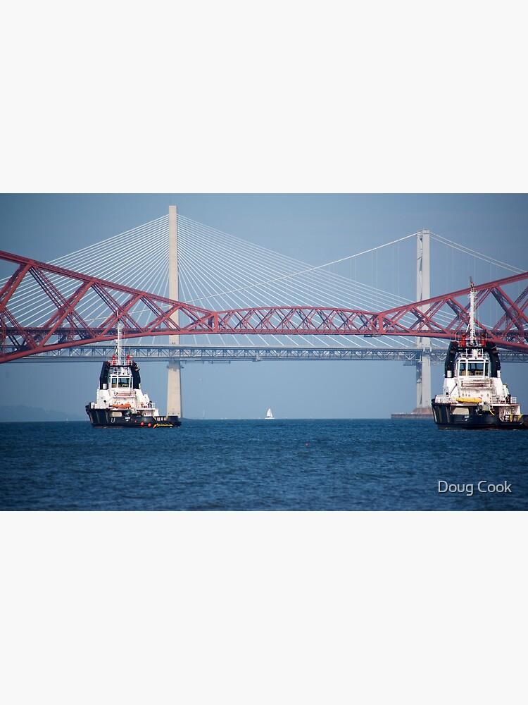 Three Bridges & Boats by DougCook