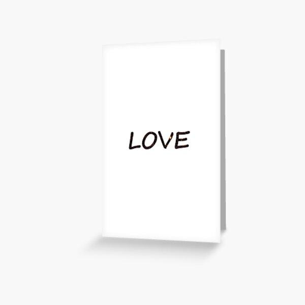 #love, #careverymuchfor, #feeldeepaffectionfor, #holdverydear, #adore, #thinktheworldof, #Amur, #Cupid Greeting Card