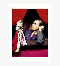 King Friday and Mister Rogers Art Print