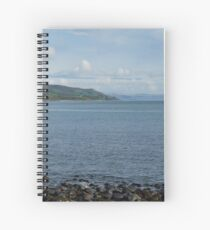 Coastline of County Antrim. Spiral Notebook