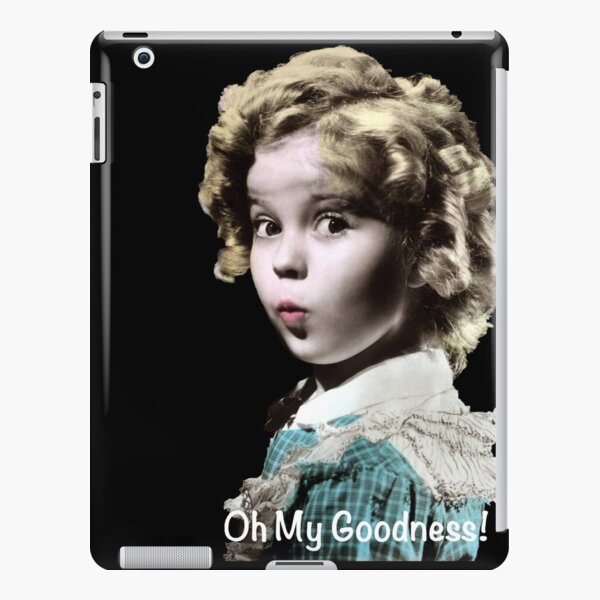Shirley Temple Oh My Goodness iPad Snap Case