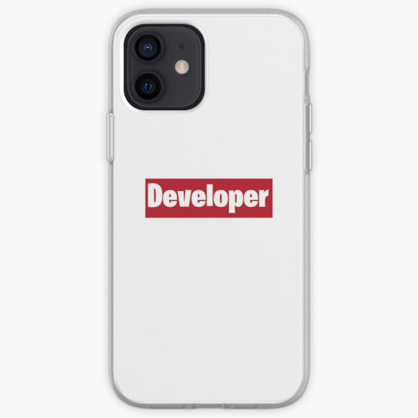 Developer is love iPhone Soft Case