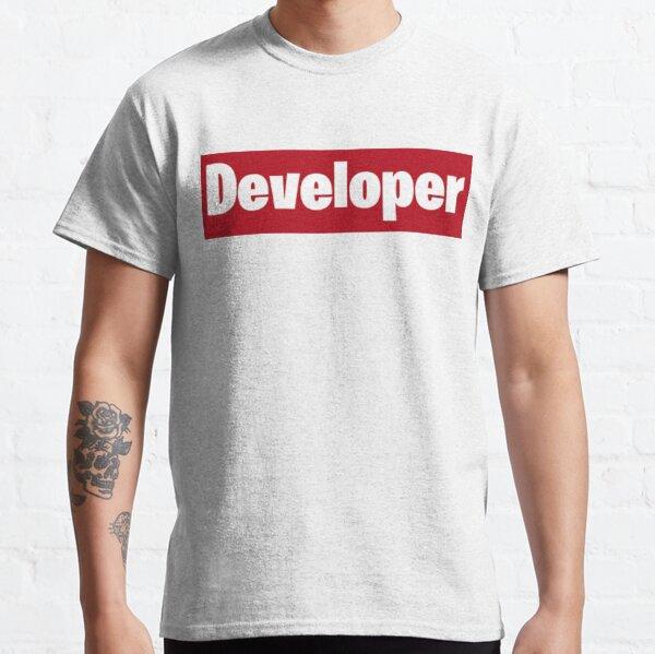 Developer is love Classic T-Shirt