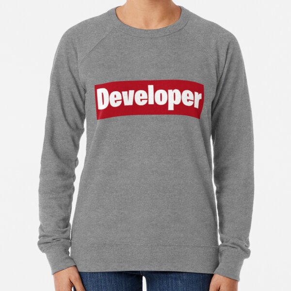 Developer is love Lightweight Sweatshirt