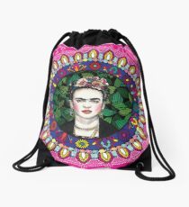Frida Kahlo Drawstring Bag